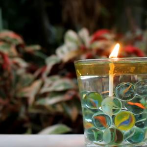 Cara Membuat Lilin dari Minyak Goreng dan Cotton Bud