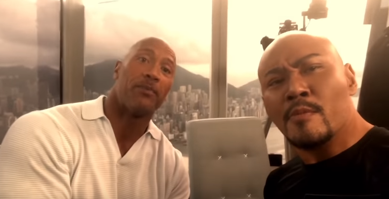 "Dwayne THE ROCK Johnson ""SEBESAR APA DENGAN Deddy Corbuzier"" Interview Hongkong Skyscraper"