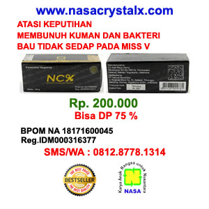Jual Crystal X Nasa Asli di Surabaya